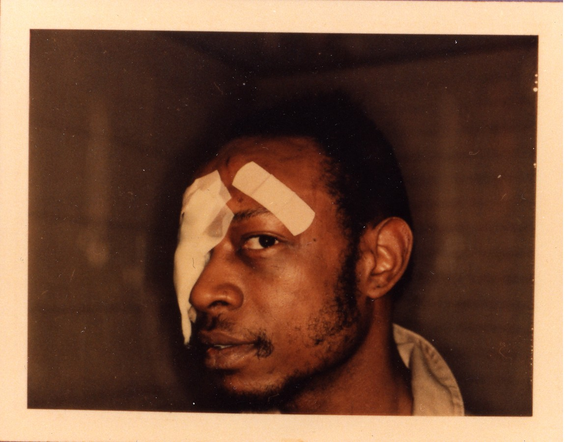 Andrew Wilson, subjected to police brutality and torture by Chicago Police.  Civil rights lawyers from People's Law Office represented him in his civil suit for brutality