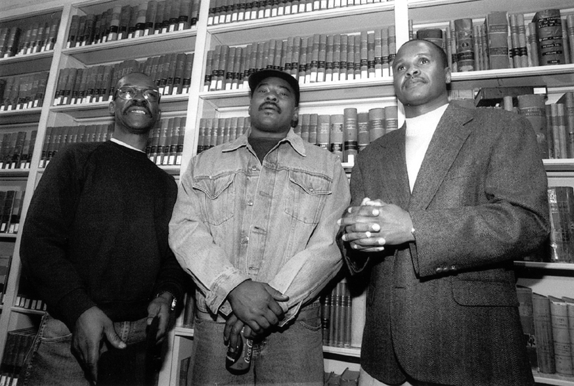 Civil rights lawyers in Chicago, including People's Law Office attorneys represented the Ford Heights Four, who were wrongfully convicted