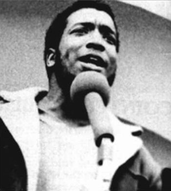 Fred Hampton, Chairman of the Illinois Chapter of the Black Panther Party